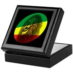 Reggae Lion Keepsake Box