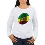 Reggae Lion Women's Long Sleeve T-Shirt