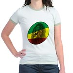 Reggae Lion Jr. Ringer T-Shirt