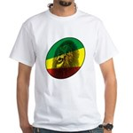Reggae Lion White T-Shirt