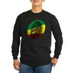 Reggae Lion Long Sleeve Dark T-Shirt