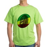 Reggae Lion Green T-Shirt
