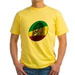Reggae Lion Yellow T-Shirt