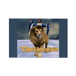 Lion of Judah - Rectangle Magnet