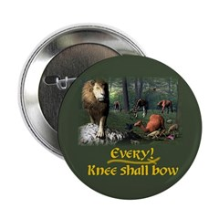 Every Knee Shall Bow - Button
