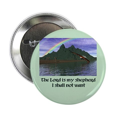 The Lord is My Shepherd - Button