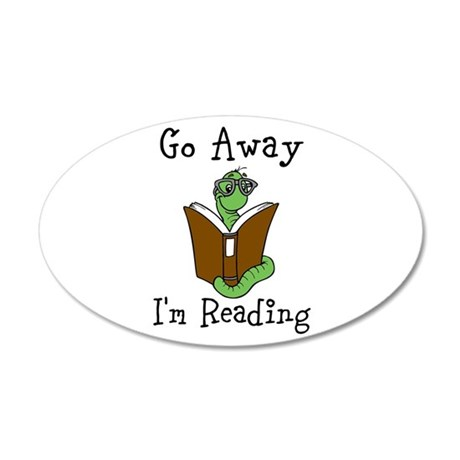 Go Away Wall Decal