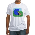 That Agility Tunnel! Fitted T-Shirt