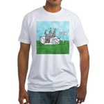 Agility Pause for the Cause! Fitted T-Shirt