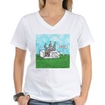 Agility Pause for the Cause! Women's V-Neck T-Shir