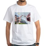 Creation / G-Shep White T-Shirt