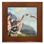 Creation / G-Shep Framed Tile