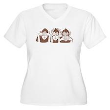 No Evil Monkeys T-Shirt