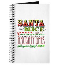 Santa and the Nice Girls Journal