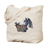 Computer Dragon Tote Bag