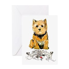 I love my Norwich Terrier Greeting Card