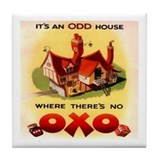 Odd Oxo Tile Coaster