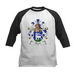 Wolf Family Crest Kids Baseball Jersey