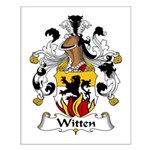 Witten Family Crest Small Poster