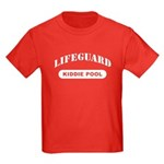 Lifeguard Kiddie Pool Kids Dark T-Shirt