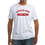 Lifeguard Kiddie Pool Fitted T-Shirt