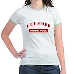 Lifeguard Kiddie Pool Jr. Ringer T-Shirt