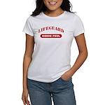 Lifeguard Kiddie Pool Women's T-Shirt