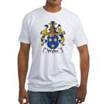 Welter Family Crest Fitted T-Shirt