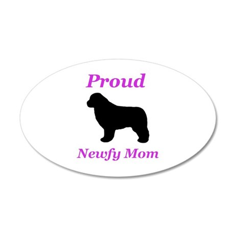 Proud Newfy Mom Wall Decal