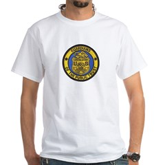Social Security Special Agent White T-Shirt