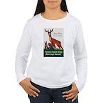 Prevent Forest Fires Women's Long Sleeve T-Shirt