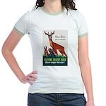 Prevent Forest Fires (Front) Jr. Ringer T-Shirt
