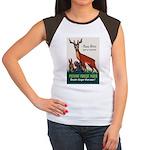 Prevent Forest Fires Women's Cap Sleeve T-Shirt