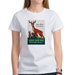Prevent Forest Fires (Front) Women's T-Shirt