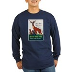 Prevent Forest Fires (Front) Long Sleeve Dark T-Sh