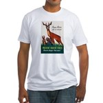 Prevent Forest Fires Fitted T-Shirt