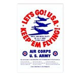 Go USA Go Army Postcards (Package of 8)