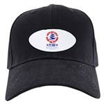 Go USA Go Army Black Cap