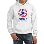 Go USA Go Army (Front) Hooded Sweatshirt
