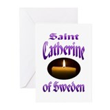 St. Catherine of Sweden Greeting Cards (Pk of 20)