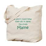 From Maine Tote Bag