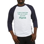 From Maine Baseball Jersey