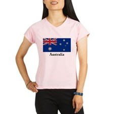 Australian Flag Unique and Performance Dry T-Shirt