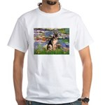 Lilies & G-Shep White T-Shirt
