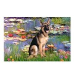 Lilies & G-Shep Postcards (Package of 8)