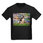 Lilies & G-Shep Kids Dark T-Shirt