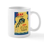 Leap Don't Lag Frog Mug