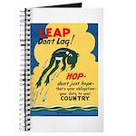 Leap Don't Lag Frog Journal