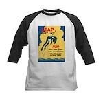 Leap Don't Lag Frog Kids Baseball Jersey