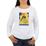Leap Don't Lag Frog Women's Long Sleeve T-Shirt